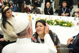 5-Address of the Holy Father on the occasion of the lunch with the poor