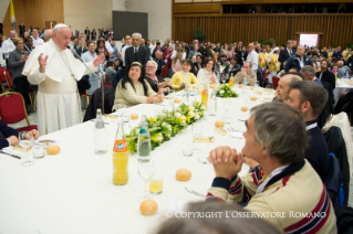 6-Address of the Holy Father on the occasion of the lunch with the poor