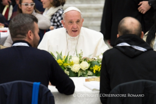8-Address of the Holy Father on the occasion of the lunch with the poor