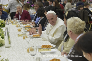 11-Address of the Holy Father on the occasion of the lunch with the poor
