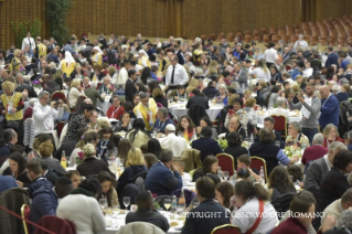 12-Address of the Holy Father on the occasion of the lunch with the poor