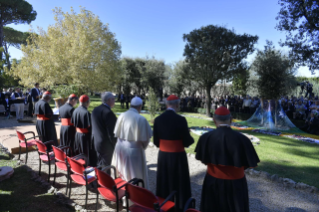 1-Feast of St. Francis in the Vatican Gardens