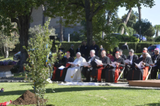 4-Feast of St. Francis in the Vatican Gardens