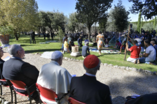 5-Feast of St. Francis in the Vatican Gardens