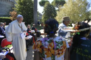7-Feast of St. Francis in the Vatican Gardens