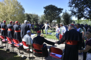 9-Feast of St. Francis in the Vatican Gardens