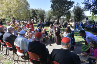 11-Feast of St. Francis in the Vatican Gardens