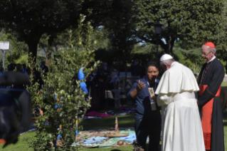 22-Feast of St. Francis in the Vatican Gardens