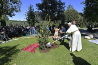 21-Feast of St. Francis in the Vatican Gardens