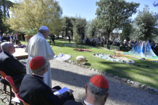 25-Feast of St. Francis in the Vatican Gardens