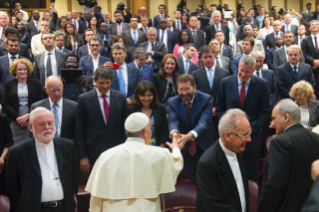 "2-Address of the Holy Father at the Workshop ""Modern Slavery and Climate Change: the Commitment of the Cities"""