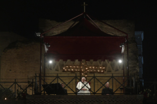 11-Way of the Cross at the Colosseum presided over by the Holy Father - Good Friday