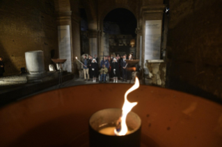 18-Way of the Cross at the Colosseum presided over by the Holy Father - Good Friday