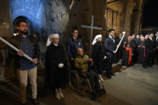 20-Way of the Cross at the Colosseum presided over by the Holy Father - Good Friday