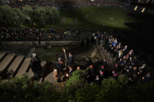 27-Way of the Cross at the Colosseum presided over by the Holy Father - Good Friday