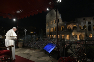 33-Way of the Cross at the Colosseum presided over by the Holy Father - Good Friday