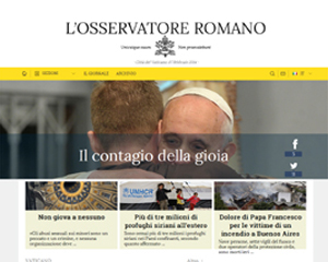 Losservatore romano online dating