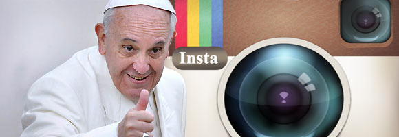 Sigue al Papa Francisco en Instagram