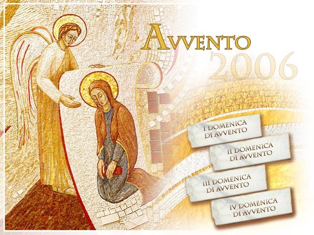 Avent (Vatican site) dans images sacrée avvento2006_it