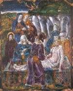 Ilustrazione tratta da una serie di 18 smalti di Limoges dipinti su piastre di rame conservati nei Musei Vaticani