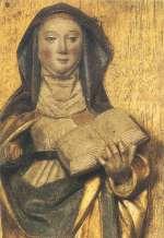 Santa Brigida - Particolare dell'Altare (Bolln�s 1468)