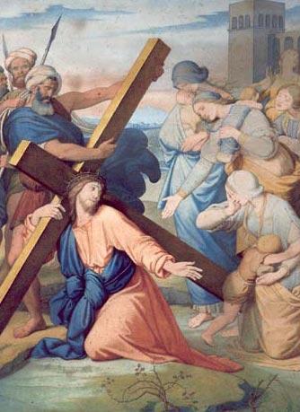8 - Jésus rencontre les femmes de Jérusalem - Bruno Desroche