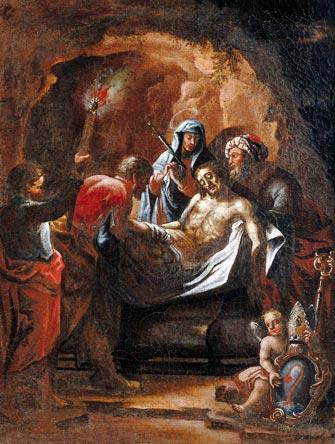 Risultati immagini per Immagini particolari Gesù deposto nel sepolcro