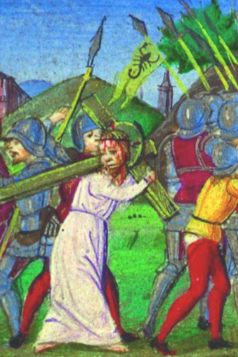 via Crucis 2007 - nona stazione : Gesù incontra le donne di Gerusalemme dans immagini sacre stazione7