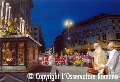 Corpus Christi procession, Rome, 2006.
