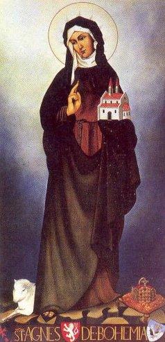 Agnes av Bøhmen (1211-1282)