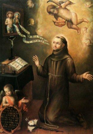 Beato Simón de Lipnica / Inmaculada Concepción - s. XVII Lipniza