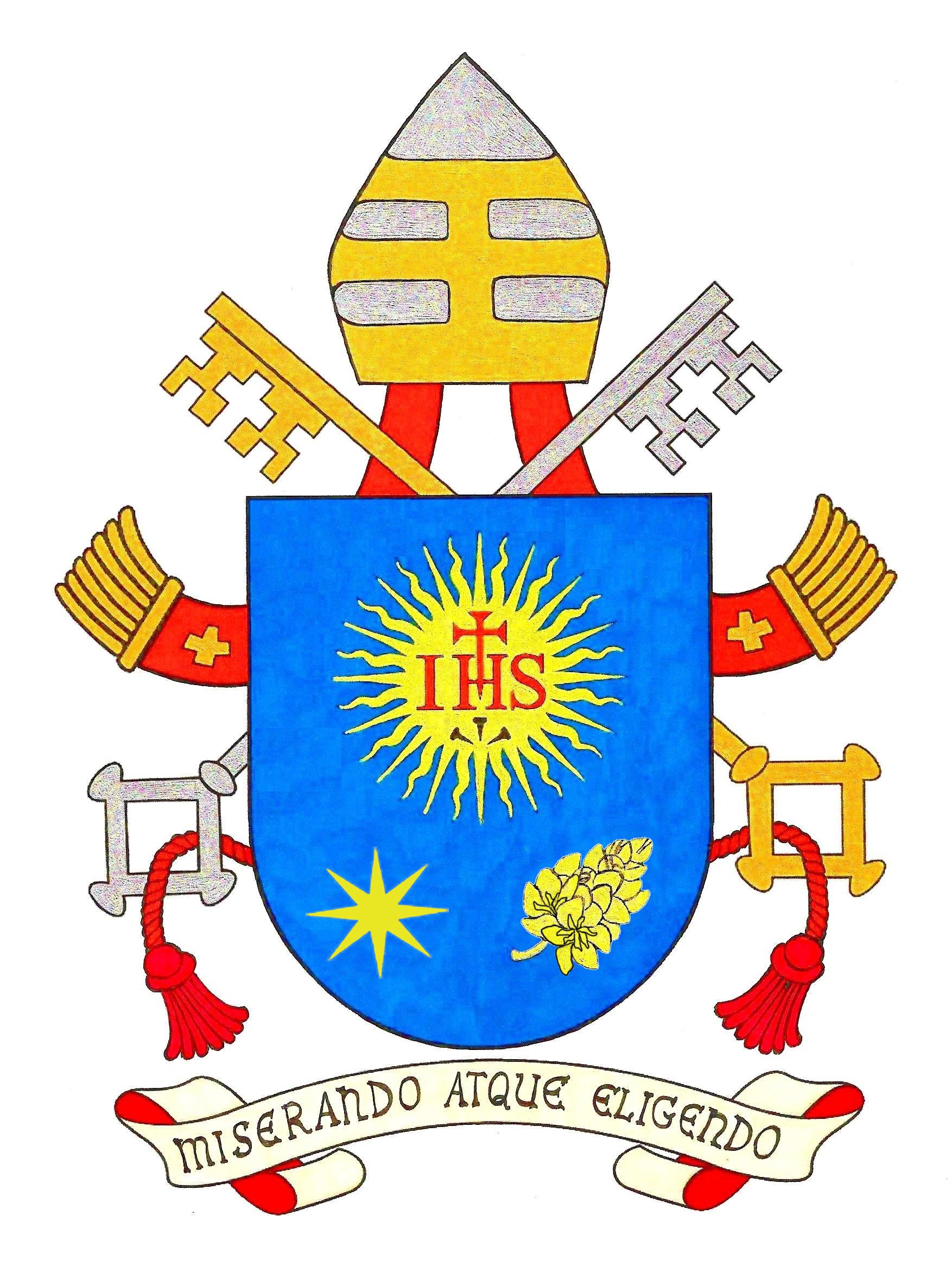 Stemmapapafrancesco18 03 2013g coat of arms of his holiness benedictus xvi buycottarizona Choice Image