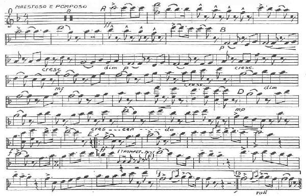 Partiture clarinetto