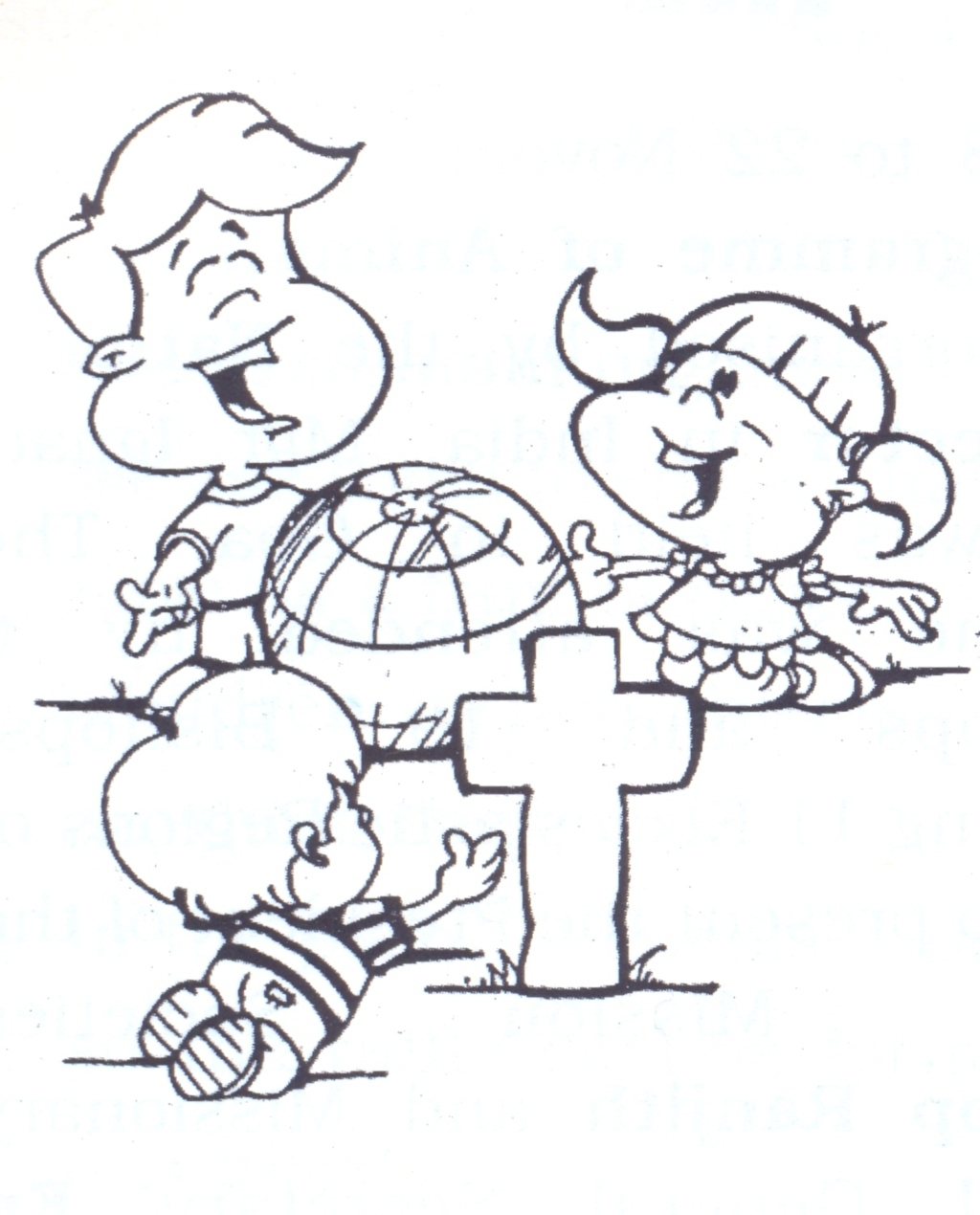 missions coloring pages - photo#15