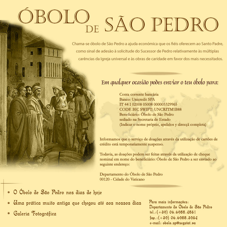 Óbolo de São Pedro