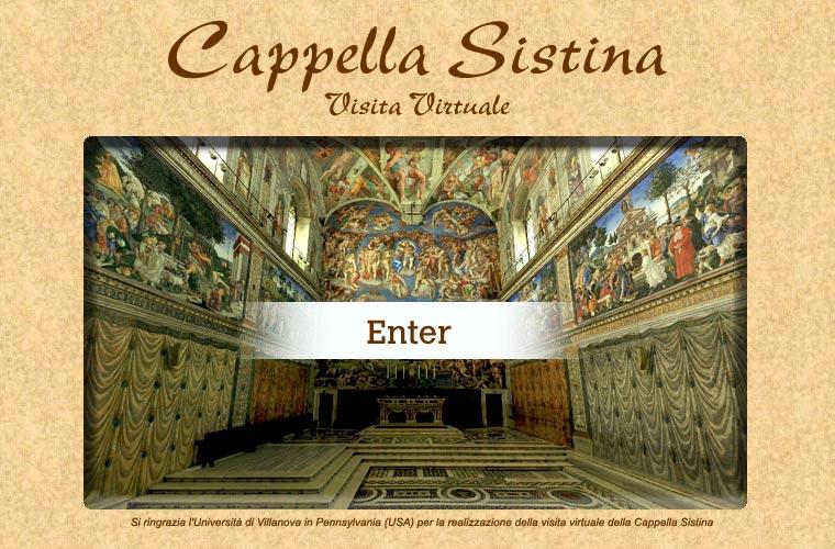 Cappella Sistina Visita Virtuale
